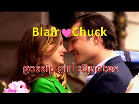 Chuck and blair gossip girl quote sorry