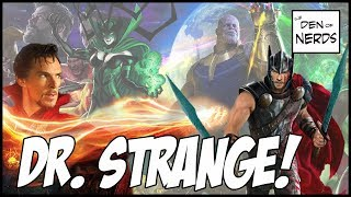 Dr. Strange in the New Thor Ragnarok Trailer! It's a Big Deal & Connects to Thanos and Infinity War!