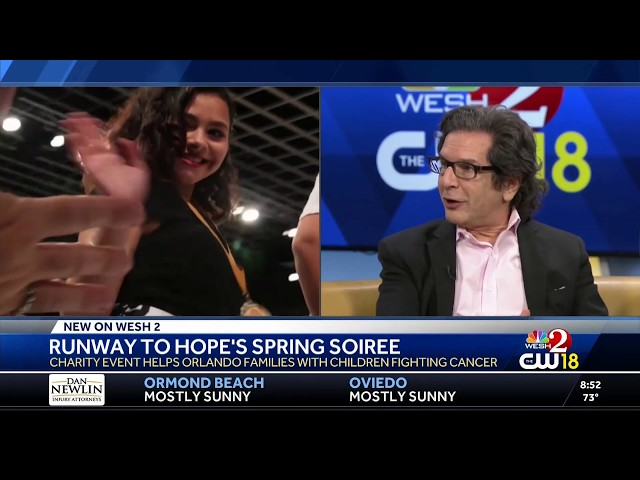 WESH 2 News: The Adam Michael Rosen Foundation Proudly Presents Runway to Hope's Spring Soiree