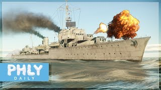 KRIEGSMARINE - Z-20 German Destroyer Gameplay (War Thunder Naval Gameplay)
