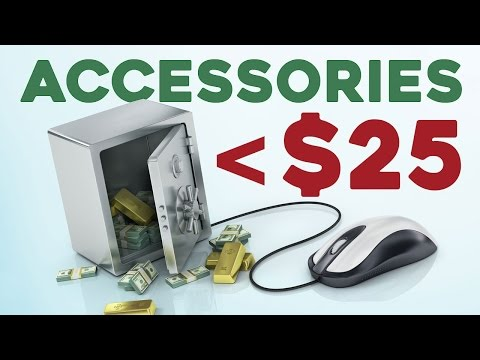 Top 10 Gaming Accessories Under $25 (2016)