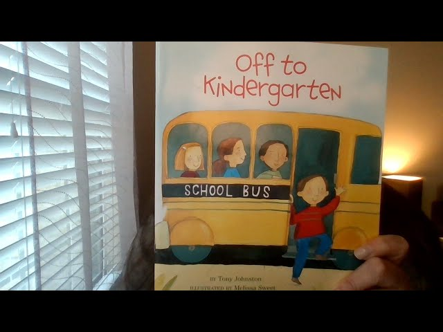 Book of the Day: Off to Kindergarten