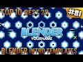 TOP 10 BEST Blender 2D intro templates #81 (Free download)