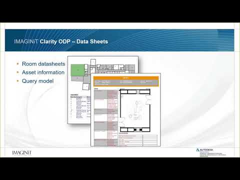 Overview of IMAGINiT Clarity Owner Data Portal 2020
