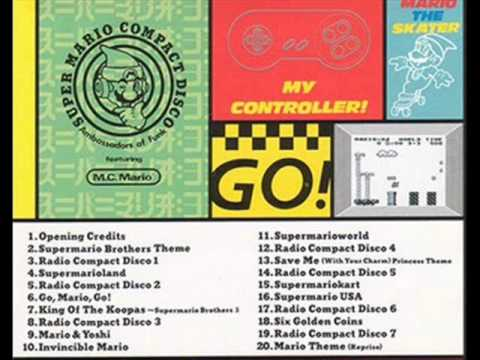 Listen To This Incredibly Weird Super Mario Dance Remix CD Released By Nintendo In '93