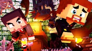 КАК СБЕЖАТЬ ИЗ ДОМА МАНЬЯКА С ЛОВУШКАМИ В МАЙНКРАФТЕ | Minecraft Дом Маньяка #1