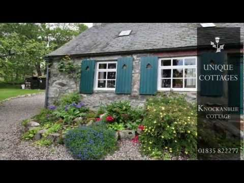 Knockanbuie Cottage, Near Grantown-on-Spey, Morayshire, Scotland - Self Catering Accommodation