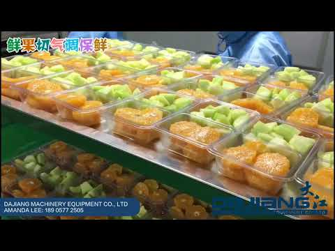 Fruit Vegetable Packaging | Intelligence Assembly Line At Hengji United | Automatic MAP Tray Sealer