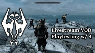 Skyrim Together - Playtesting / finding bugs to fix