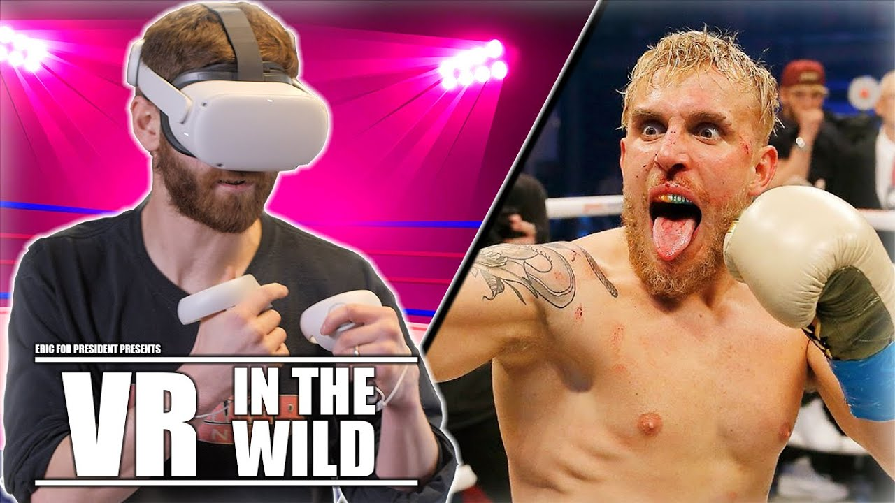Boxing Coach Challenges Jake Paul To A VR Showdown | VR In The Wild