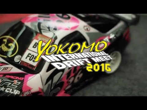 Yokomo International Drift Meet 2016 Video (Miri, Sarawak, Malaysia)