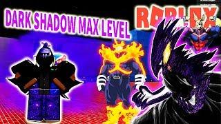 ROBLOX-The RARE POWER DARK SHADOW HERO MAX LEVEL-Boku No Roblox