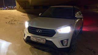 Hyundai Creta 1.6AT 2WD обзор на автомобиль