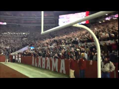 Alabama fans sing Rammer Jammer after Tide beats No 1 Mississippi State