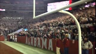 Alabama fans sing 'Rammer Jammer' after Tide beats No. 1 Mississippi State