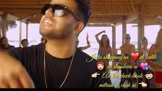 Sachi uss gabru di life ban jau | new punjabi | song whatsapp status  Akhil ||😍😍😍😘😘😘😘😘😘😆😆