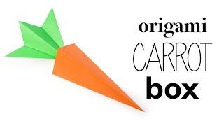 Origami Carrot Box Tutorial ♥︎ DIY ♥︎