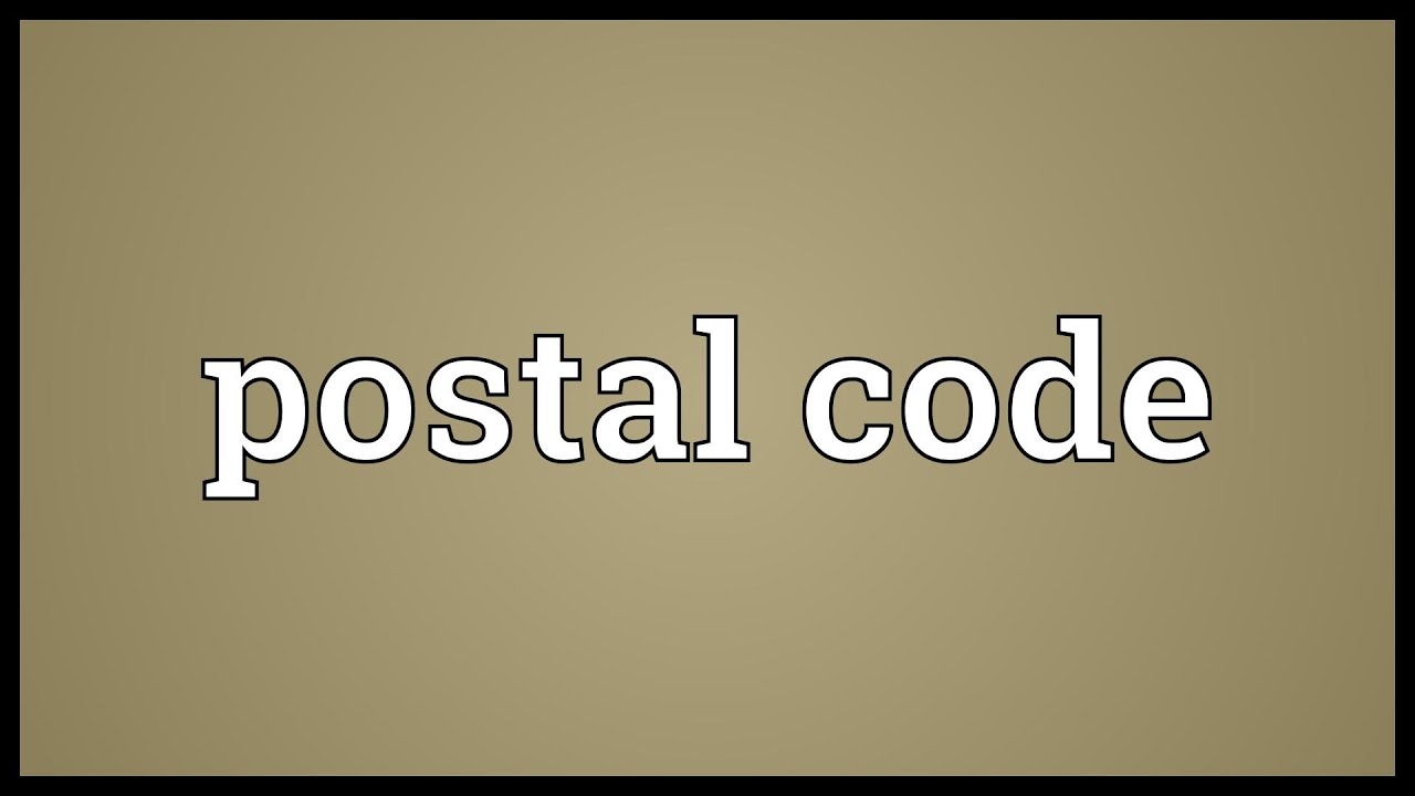Postal code - what it is and what it is eaten with 12
