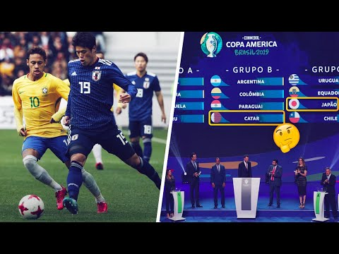 Why the hell are Qatar and Japan taking part in the Copa America? - Oh My Goal