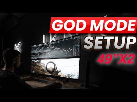 Day Trading Computer Or Gaming Setup? LG Monitor GODMODE 49