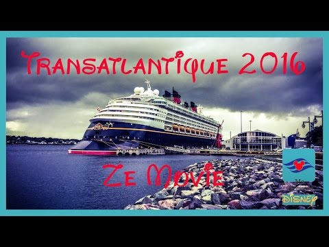 West Bound Transatlantic Disney Cruise - September 2016