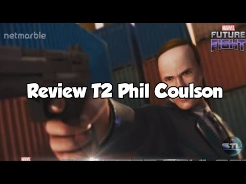 T2 Phil Coulson Review (c/ teste na BAX) - MARVEL Future Fight