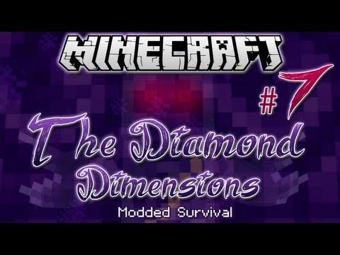 """HEY, LISTEN!""   Diamond Dimensions Modded Survival #7   Minecraft"