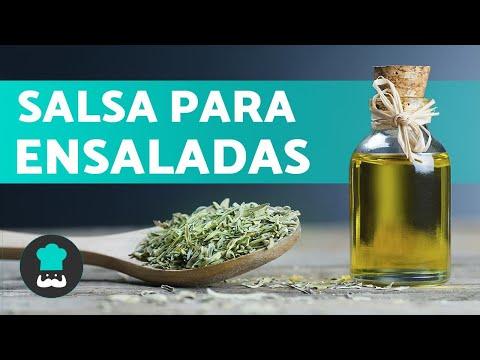 SALSA para ENSALADAS - Saludable, Vegana y Muy Fácil 👌