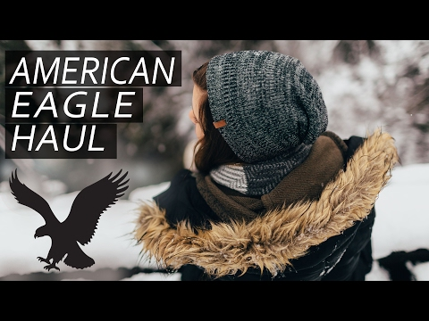 American Eagle Try-on Haul | Winter Clearance | Socks, Beanie And Sweat Pants