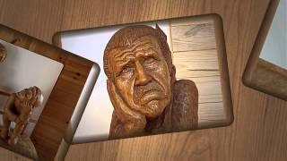 Sculptures In Wood (collage Motion)_skolot