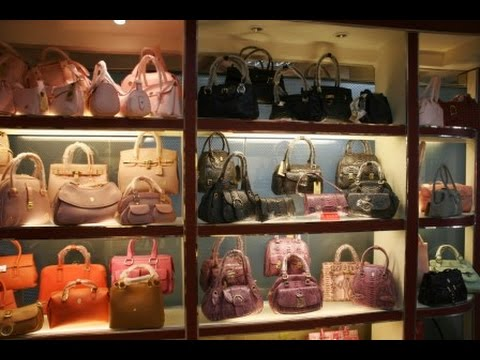 95f719df1a Factory and Wholesale bags market in China - YouTube
