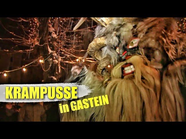 Bad Gastein: Krampuslauf, Krampus & Nikolaus / Österreich - Highlights