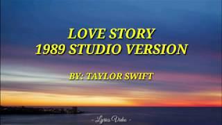 LOVE STORY (1989 Version) | LYRICS VIDEO