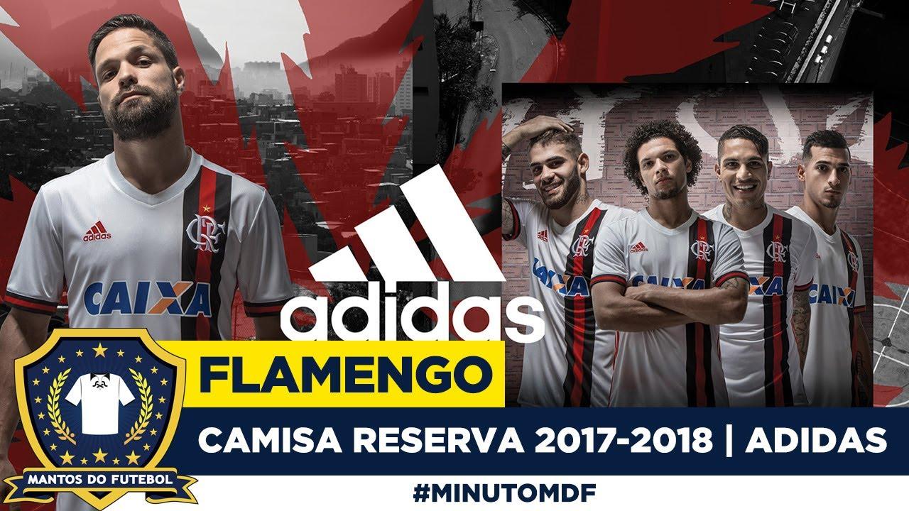 cfccf7ecabc 🦅 Camisa do Flamengo 2017-2018 Adidas (Away) - YouTube
