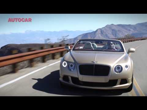 Bentley Continental GTC Speed driven - autocar.co.uk