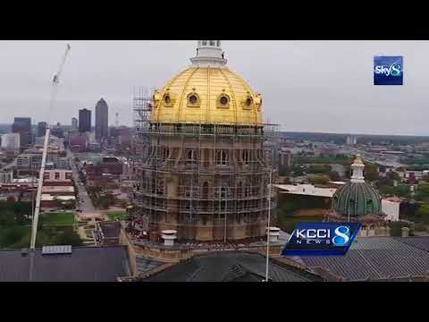 RAW VIDEO: Sky-high view of the State Capitol