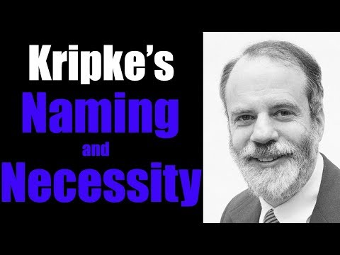 Kripke's Naming and Necessity | Who Shaves the Barber? #6
