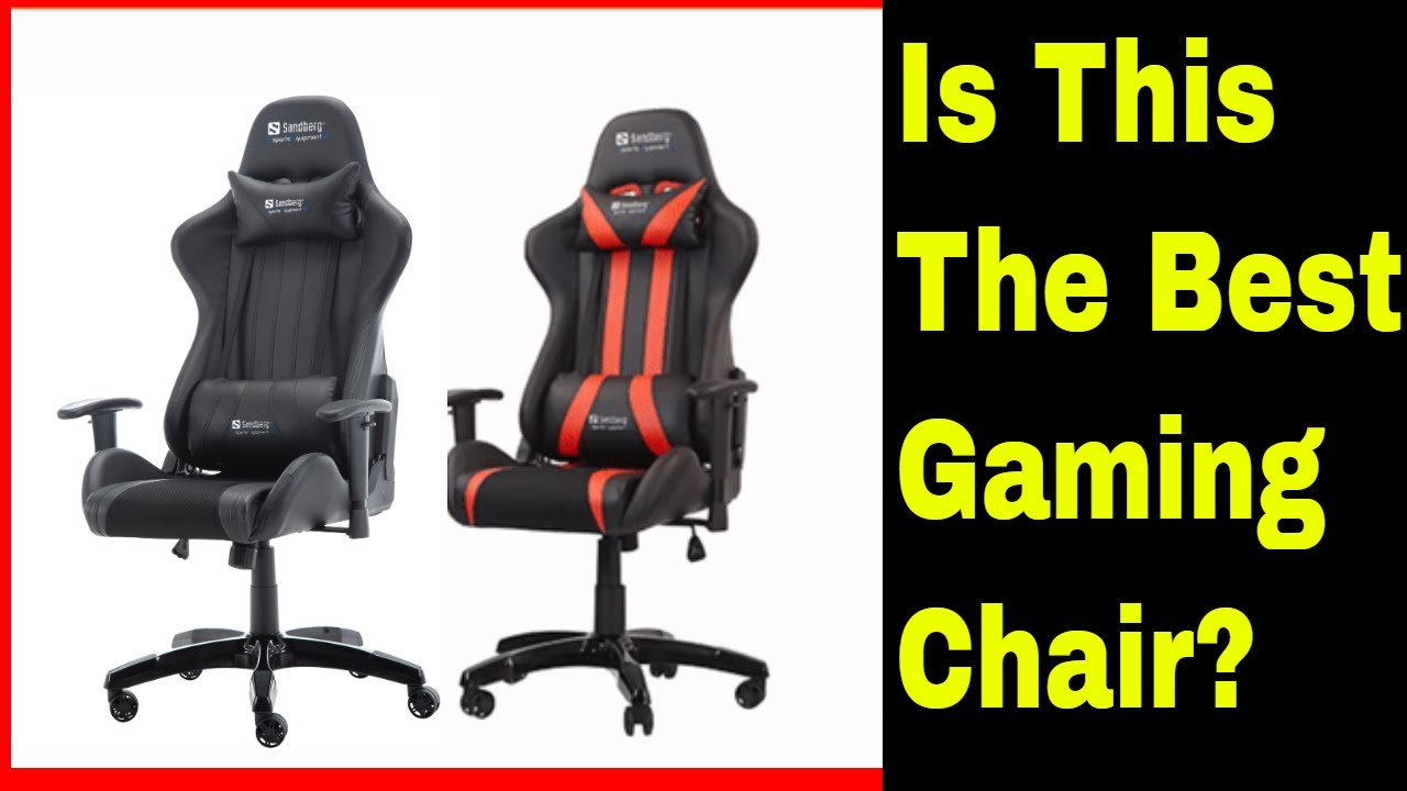 Gaming Chair Sandberg Commander Unboxing And Review Youtube
