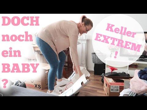 Doch noch ein BABY ?   KELLER aufräumen EXTREM   EMOTIONEN kochen ÜBER   VLOG