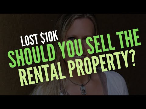 What to do if you have a bad year on a rental property | Should you sell it?