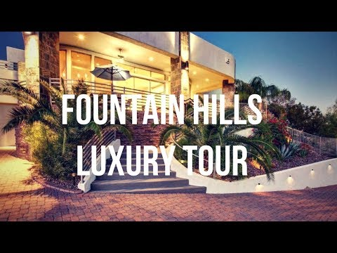 Fountain Hills Arizona Luxury Home Tour