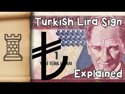 Turkish Lira Sign - Explained
