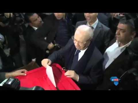 Tunisia's landmark presidential poll under way