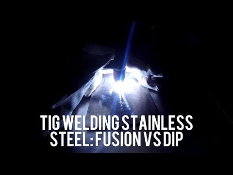 Stainless TIG: Fusion or filler?