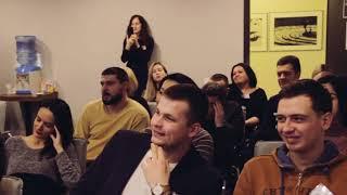 """Лекция """"Как пробить стеклянный потолок"""" для КМБ / Артур Акопян психолог"""