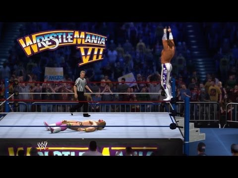 WWE 2K14: Macho Man vs. Ultimate Warrior at WrestleMania 7 ...