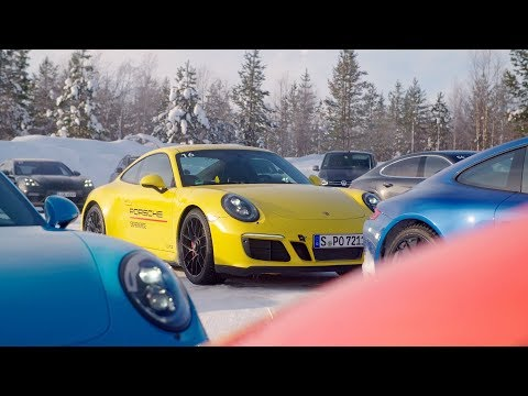 Porsche Ice Experience in Finland - The Ultimate Winter Driving Experience