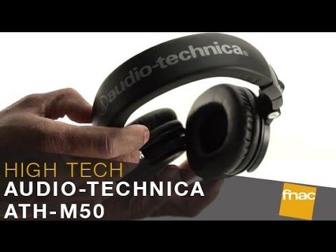 Casque Audio Technica Ath M50 Les Conseils Des Experts Fnac Youtube
