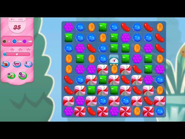 Candy Crush Saga niveau 529
