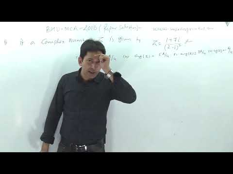 BHU-2018 complete paper solutions with Logic-1